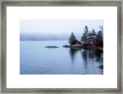 Beyond The Mist Framed Print