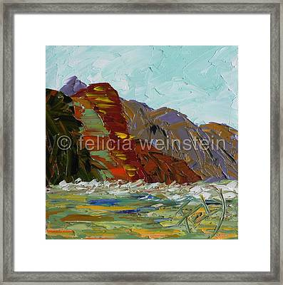 Beyond The Mountains 1 Framed Print