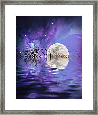 Beyond The Nebula Framed Print
