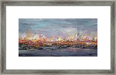 Beyond The Surge Framed Print