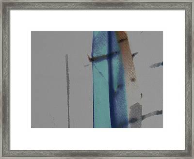Framed Print featuring the digital art Beyond The Veil by Ken Walker