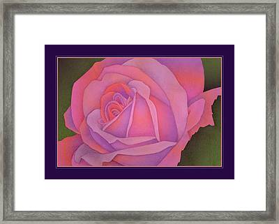 Beyond The Wall Framed Print by Jane Alexander