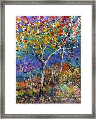 Beyond The Woods Framed Print