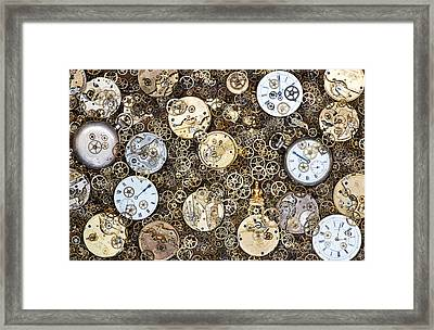 Beyond Time Framed Print by Tim Gainey