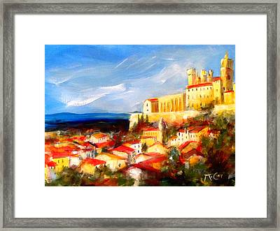 Beziers Framed Print by K McCoy