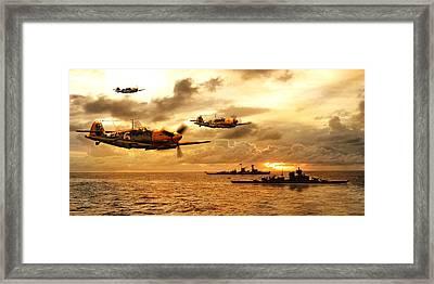 Bf 109 German Ww2 Framed Print by John Wills