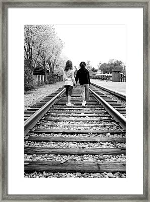 Framed Print featuring the photograph Bff's by Greg Fortier