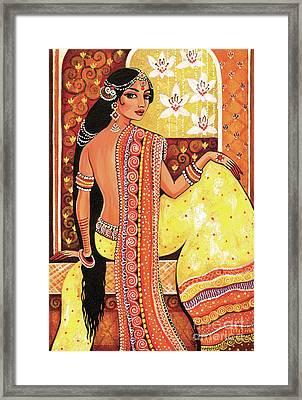 Bharat Framed Print by Eva Campbell