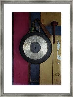 Bhutan Banga-gong..... Framed Print