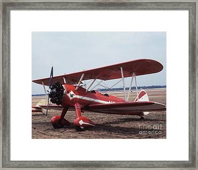 Framed Print featuring the photograph Bi-wing-1 by Donald Paczynski