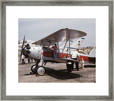 Framed Print featuring the photograph Bi-wing-3 by Donald Paczynski