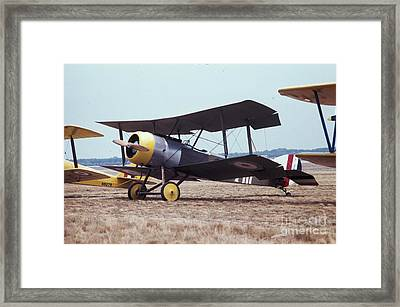 Framed Print featuring the photograph Bi-wing-4 by Donald Paczynski