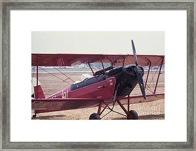 Framed Print featuring the photograph Bi-wing-5 by Donald Paczynski