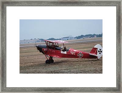 Framed Print featuring the photograph Bi-wing-7 by Donald Paczynski