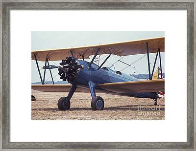 Framed Print featuring the photograph Bi-wing-8 by Donald Paczynski