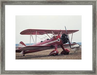 Framed Print featuring the photograph Bi-wing-9 by Donald Paczynski