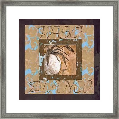 Bianco Vinaccia Framed Print