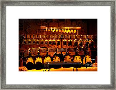 Bianzhong Framed Print by Birgit Moldenhauer