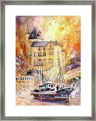 Biarritz Authentic Framed Print