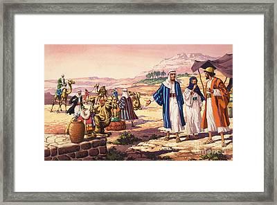 Biblical Landscape Framed Print