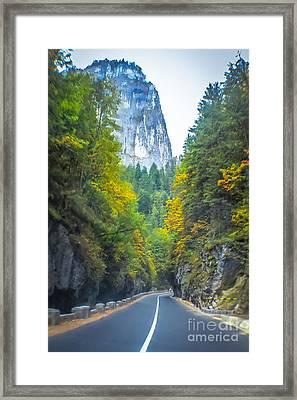 Bicaz Canyon Framed Print
