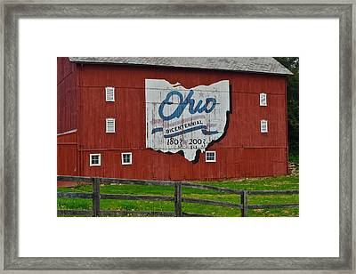Bicentennial Ohio Framed Print by Frozen in Time Fine Art Photography