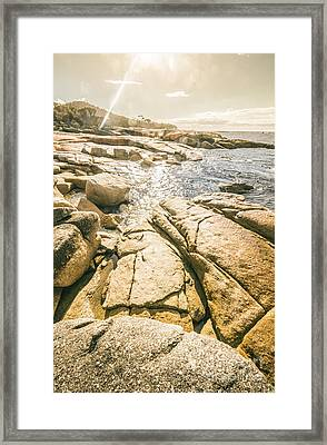 Bicheno Foreshore Framed Print by Jorgo Photography - Wall Art Gallery