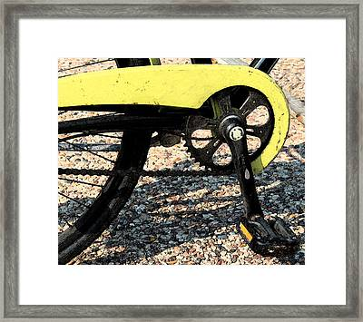 Bicycle 2 Framed Print by Gary Everson
