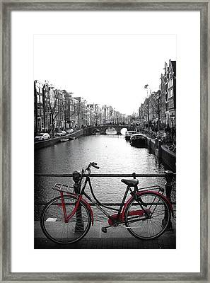 Bicycle 2 Framed Print