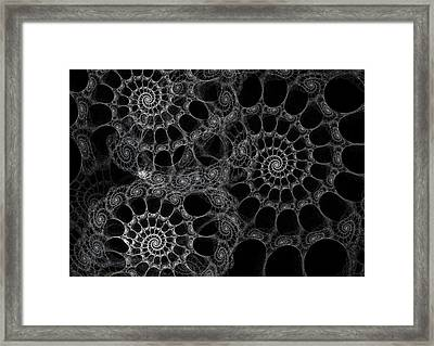 Bicycle Chain Framed Print by David April