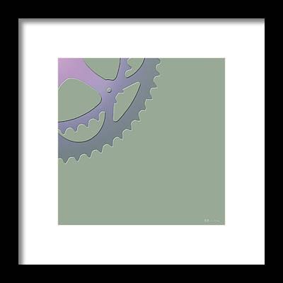 Cycling Framed Prints