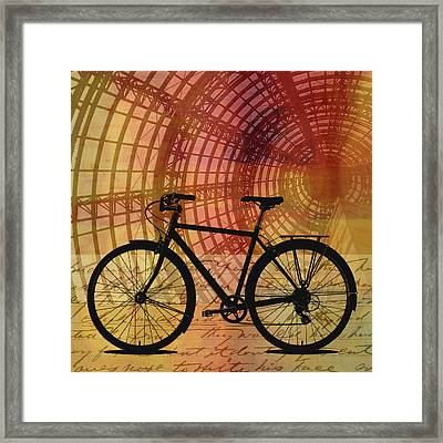 Bicycle Life Framed Print