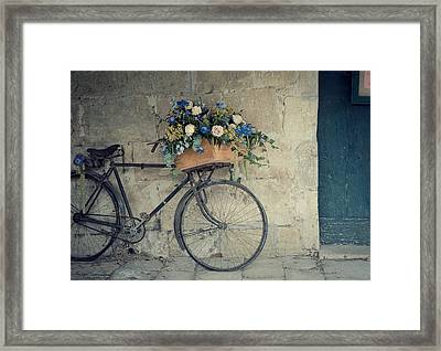 Bicycle Framed Print by Photogodfrey
