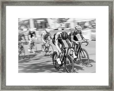 Criterium Framed Print by Jim Hughes