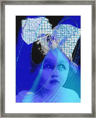 Biddidi-bobbidi-blue Framed Print by Seth Weaver