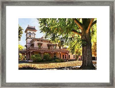 Bidwell Mansion Framed Print