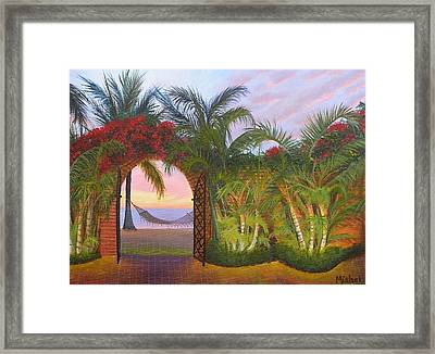 Bien Venidos Framed Print