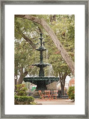Framed Print featuring the photograph Bienville Beauty by Julie Andel