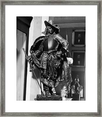 Bienville In Bronze Framed Print