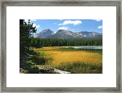 Autumn At Bierstadt Lake Framed Print