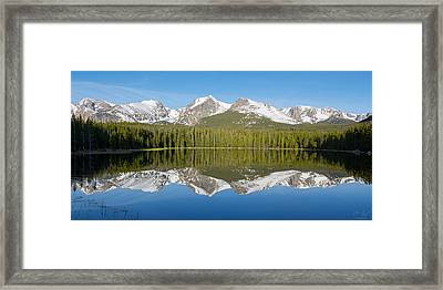Bierstadt Lake  Framed Print