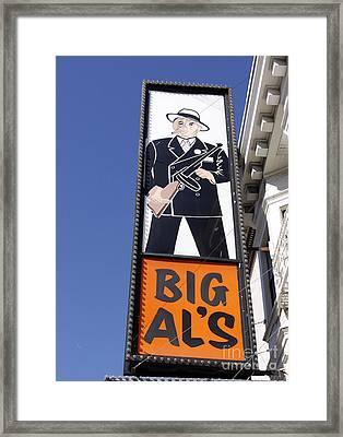 Big Al Framed Print by Denise Pohl