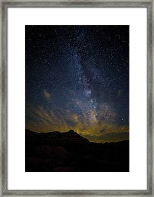 Big And Bright Texas Night Framed Print