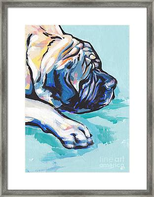 Big And Sweet Framed Print