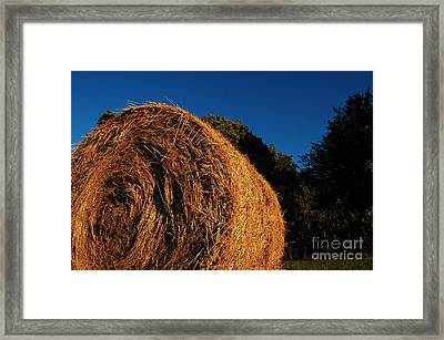 Big Bales Framed Print by The Stone Age