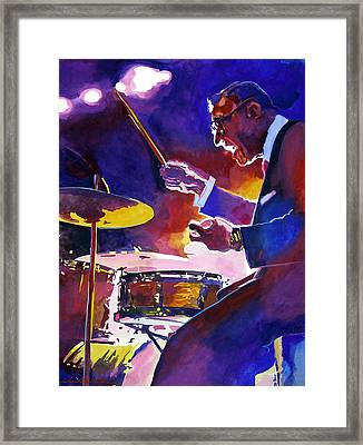 Big Band Ray Framed Print by David Lloyd Glover