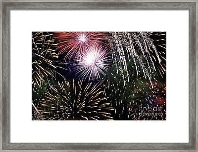 Big Bang Fireworks Framed Print