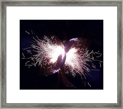 Big Bang Framed Print by Jerry Browning