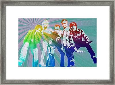 Big Bang Theory Art Framed Print by Dan Sproul