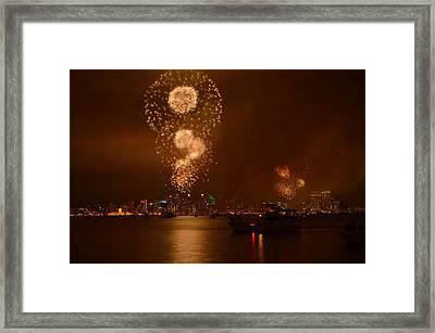 Big Bay Boom Framed Print by See My  Photos